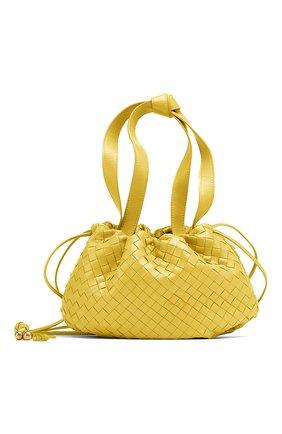 Женская сумка bulb small BOTTEGA VENETA желтого цвета, арт. 651811/V08Z1 | Фото 1