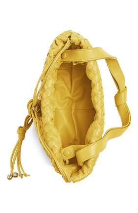 Женская сумка bulb small BOTTEGA VENETA желтого цвета, арт. 651811/V08Z1 | Фото 2