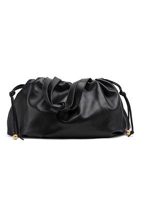 Женская сумка bulb medium BOTTEGA VENETA черного цвета, арт. 651812/VCP40 | Фото 1