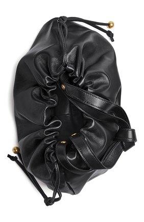 Женская сумка bulb medium BOTTEGA VENETA черного цвета, арт. 651812/VCP40 | Фото 2