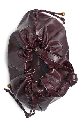 Женская сумка bulb medium BOTTEGA VENETA фиолетового цвета, арт. 651812/VCP40 | Фото 2