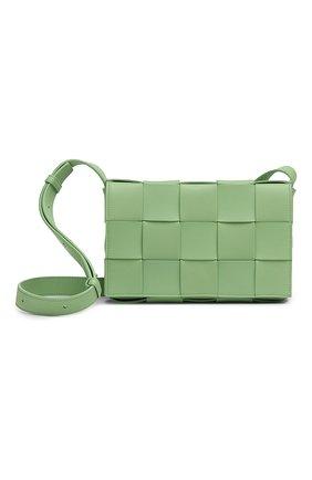 Женская сумка cassette BOTTEGA VENETA светло-зеленого цвета, арт. 578004/VMAY1 | Фото 1