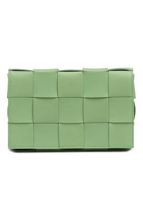 Женская сумка cassette BOTTEGA VENETA светло-зеленого цвета, арт. 578004/VMAY1 | Фото 2