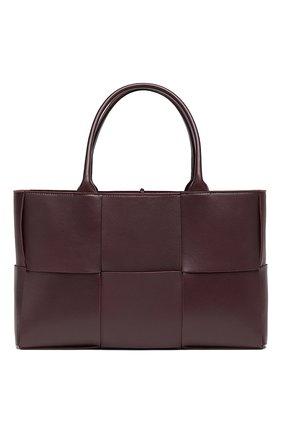 Женская сумка-тоут arco BOTTEGA VENETA фиолетового цвета, арт. 609175/VMAY5 | Фото 1