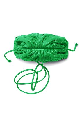 Женские кожаный кошелек BOTTEGA VENETA зеленого цвета, арт. 577816/VCPP1 | Фото 2