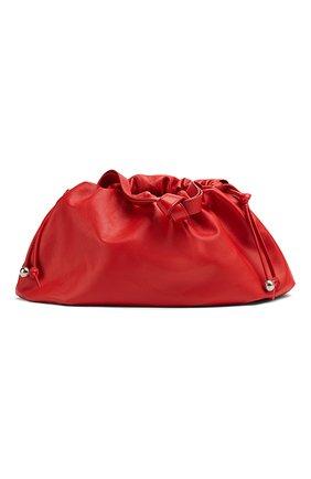 Женская сумка bulb medium BOTTEGA VENETA красного цвета, арт. 651812/VCP40 | Фото 1