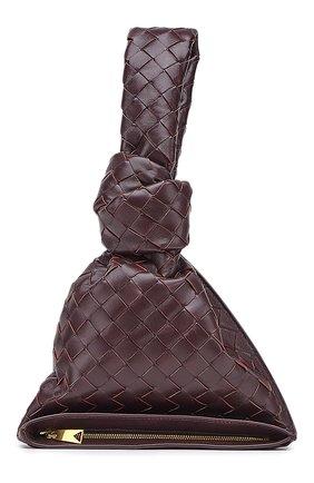 Женская сумка twist mini BOTTEGA VENETA фиолетового цвета, арт. 652001/VCPP0 | Фото 1