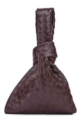 Женская сумка twist mini BOTTEGA VENETA фиолетового цвета, арт. 652001/VCPP0 | Фото 2