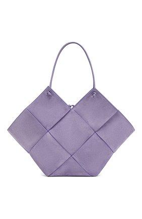 Женская сумка-тоут BOTTEGA VENETA сиреневого цвета, арт. 652057/V0HS1 | Фото 1