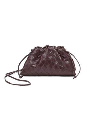 Женский клатч pouch mini BOTTEGA VENETA фиолетового цвета, арт. 585852/VCPP1 | Фото 1