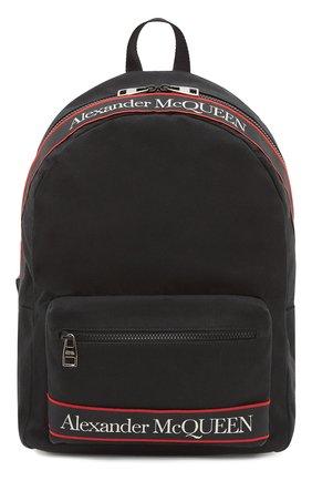 Мужской текстильный рюкзак metropolitan ALEXANDER MCQUEEN черного цвета, арт. 646457/1AAAJ | Фото 1