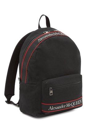 Мужской текстильный рюкзак metropolitan ALEXANDER MCQUEEN черного цвета, арт. 646457/1AAAJ | Фото 2