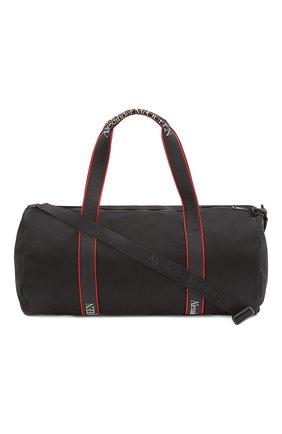 Мужская текстильная спортивная сумка metropolitan ALEXANDER MCQUEEN черного цвета, арт. 646458/1AAAJ | Фото 1