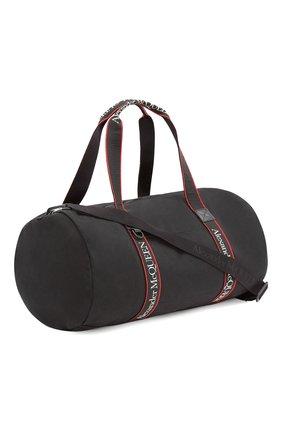 Мужская текстильная спортивная сумка metropolitan ALEXANDER MCQUEEN черного цвета, арт. 646458/1AAAJ | Фото 2