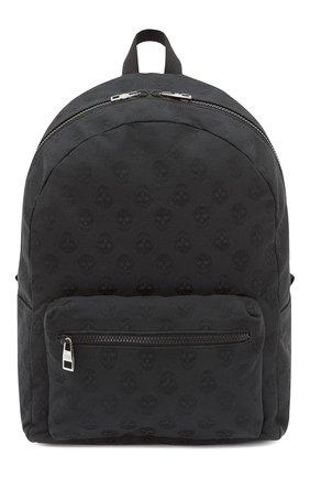 Мужской текстильный рюкзак metropolitan ALEXANDER MCQUEEN черного цвета, арт. 646457/1AAAK | Фото 1