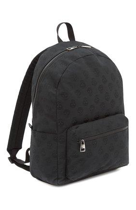 Мужской текстильный рюкзак metropolitan ALEXANDER MCQUEEN черного цвета, арт. 646457/1AAAK | Фото 2