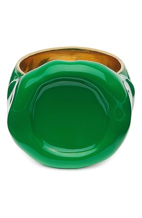 Мужское кольцо BOTTEGA VENETA зеленого цвета, арт. 651193/VAHU4 | Фото 1