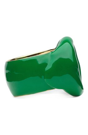 Мужское кольцо BOTTEGA VENETA зеленого цвета, арт. 651193/VAHU4 | Фото 2