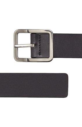 Мужской двусторонний кожаный ремень BOTTEGA VENETA темно-коричневого цвета, арт. 649371/VA9B0   Фото 2