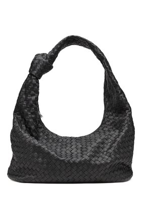 Мужская кожаная сумка BOTTEGA VENETA черного цвета, арт. 651830/V0E50 | Фото 1