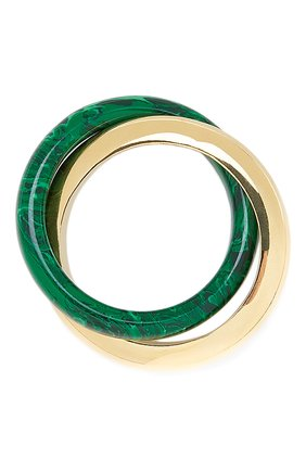 Мужское кольцо BOTTEGA VENETA зеленого цвета, арт. 651209/VCCU3 | Фото 2