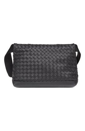 Мужская кожаная сумка BOTTEGA VENETA черного цвета, арт. 651836/V0E52 | Фото 2