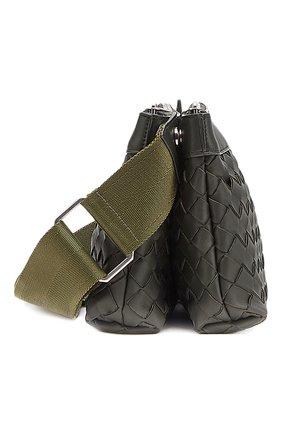 Мужская кожаная сумка BOTTEGA VENETA темно-зеленого цвета, арт. 651938/V0E52 | Фото 2