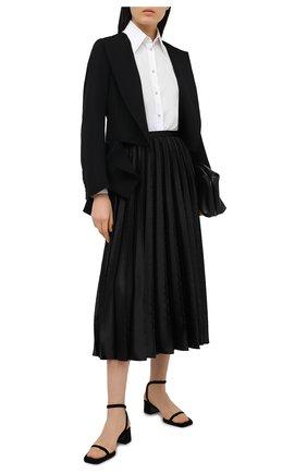 Женская юбка RALPH LAUREN черного цвета, арт. 290820598   Фото 2