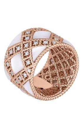 Женские кольцо ROBERTO COIN розового золота цвета, арт. ADV888RI2009   Фото 1