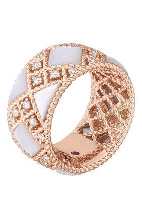 Женские кольцо ROBERTO COIN розового золота цвета, арт. ADV888RI2016   Фото 1