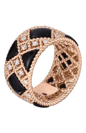 Женские кольцо ROBERTO COIN розового золота цвета, арт. ADV888RI2015   Фото 1