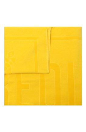 Мужские хлопковое полотенце VILEBREQUIN желтого цвета, арт. SANE9200/117 | Фото 1