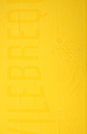 Мужские хлопковое полотенце VILEBREQUIN желтого цвета, арт. SANE9200/117 | Фото 2