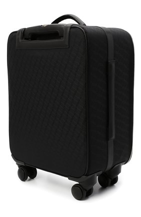 Мужской дорожный чемодан ZILLI черного цвета, арт. MJL-0BW03-J0440/0001   Фото 2 (Материал: Текстиль)
