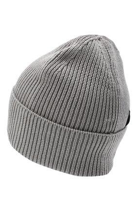 Мужская шерстяная шапка Y-3 серого цвета, арт. GR4118/M | Фото 2