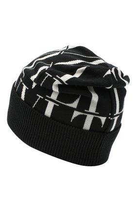 Мужская шерстяная шапка VALENTINO черно-белого цвета, арт. VY2HB00SPEA | Фото 2