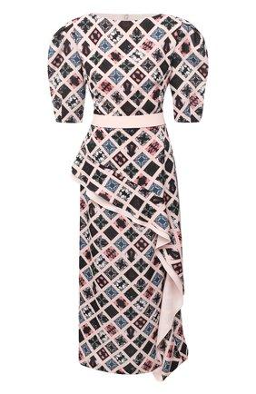 Женское платье ULYANA SERGEENKO розового цвета, арт. ABM013FW20P(1702т20) | Фото 1