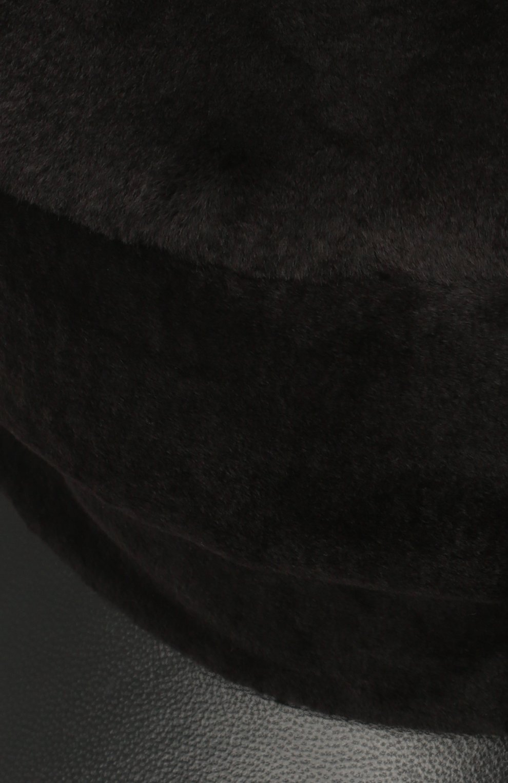 Женская кепка из меха норки KUSSENKOVV темно-коричневого цвета, арт. 120218504426 | Фото 3