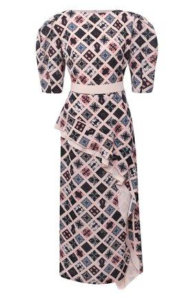 Женское платье ULYANA SERGEENKO розового цвета, арт. ABM013FW20P (1336т20) | Фото 1