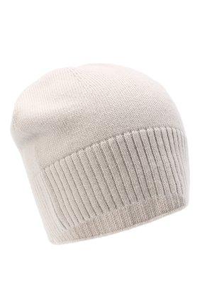 Женская кашемировая шапка lisbon CANOE светло-бежевого цвета, арт. 4912452 | Фото 1