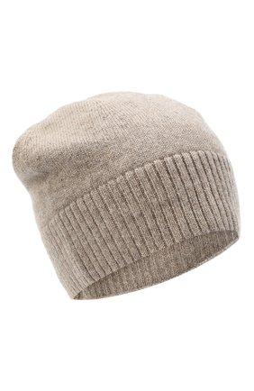 Женская кашемировая шапка lisbon CANOE бежевого цвета, арт. 4912456 | Фото 1