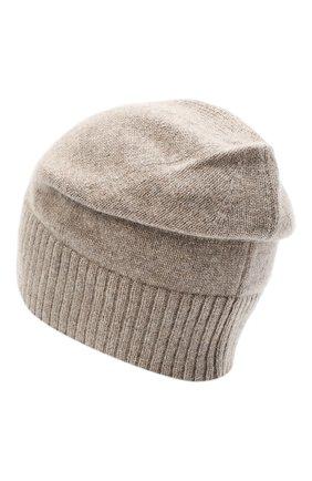 Женская кашемировая шапка lisbon CANOE бежевого цвета, арт. 4912456 | Фото 2