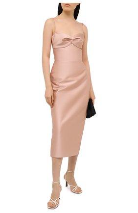 Женское платье RASARIO бежевого цвета, арт. 0089W20_8 | Фото 2