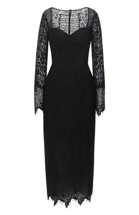 Женское платье ZUHAIR MURAD черного цвета, арт. DRP20039/LMIX007 | Фото 1