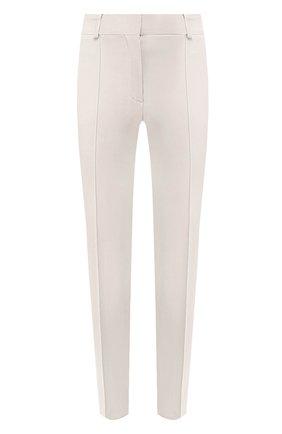 Женские хлопковые брюки LORO PIANA кремвого цвета, арт. FAL0763 | Фото 1