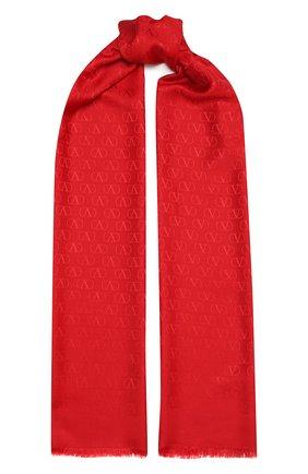 Женская палантин valentino garavani VALENTINO красного цвета, арт. VW2ED007/AJB | Фото 1