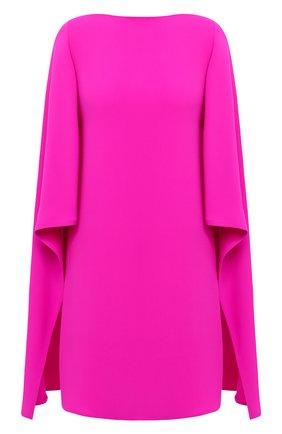 Женское шелковое платье VALENTINO фуксия цвета, арт. VB3VAUT51MM | Фото 1