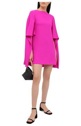Женское шелковое платье VALENTINO фуксия цвета, арт. VB3VAUT51MM | Фото 2