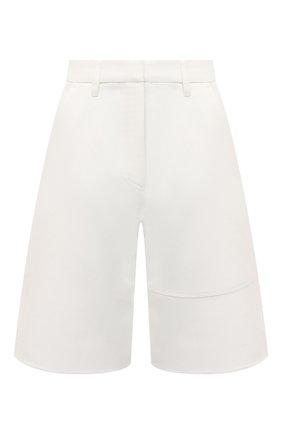 Женские хлопковые шорты VALENTINO белого цвета, арт. VB3RD08075Y | Фото 1