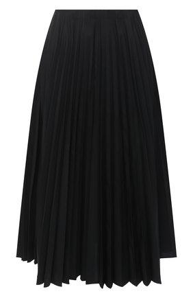 Женская юбка VALENTINO черного цвета, арт. VB3RA7F54H2 | Фото 1